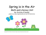 Spring Math + Literacy Unit: # words, Sight words, worksheets+more!