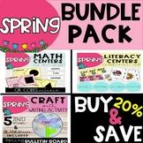 Spring Math, Literacy, and Writing Bundle
