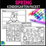 Spring Kindergarten Worksheet Packet