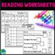 Spring Math, Literacy & Writing Packet + Morning Seat Work