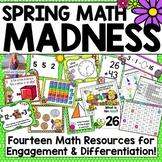 Spring Math Madness: 14 Math Resources Mega Pack!
