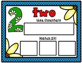 Spring Math Mats:  Kindergarten Number Sense Math Mats