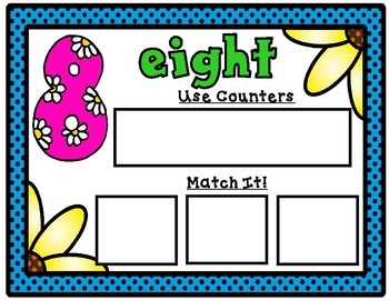 Math Mats:  Number Sense Math Mats