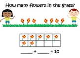 Spring Math Mats ~ Making 5 ~ Making 10 ~ Addition ~ Subtraction ~ Word Problems