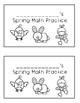 Spring Math Mini Practice Book
