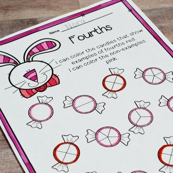 First Grade Spring Math No Prep Printables {TEKS/CCSS}