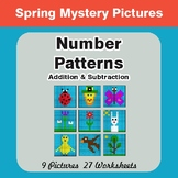Spring Math: Number Patterns: Addition & Subtraction - Mys