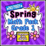 Spring No Prep Math - 1st Grade