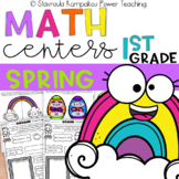 Spring Math Packet for Kindergarten