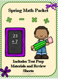 Spring Math Packet