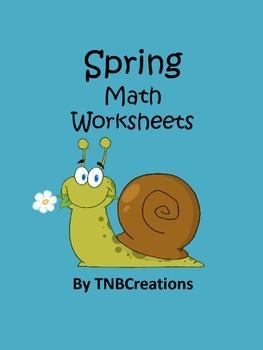Spring Math Worksheets