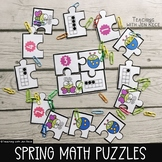 Spring Math Puzzles for beginners