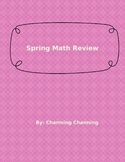 Spring Math Review