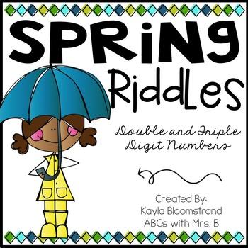 Spring Math Riddles