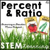 Spring Math STEM Project: Ratios and Percents   Printable & Google Digital