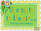 Spring Math Stations (Centers)