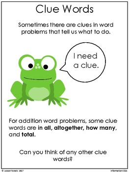 Addition Word Problems:  Spring Math Task Cards