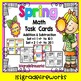 Spring Math Task Cards. + / -  to 20
