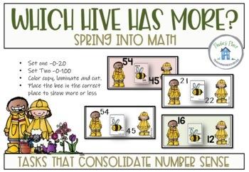 Spring Math - Ten Tasks