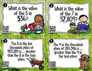 4th Grade Spring Math Test Prep Games