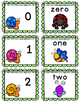 Free Math Word Matching 0-20 Task Cards