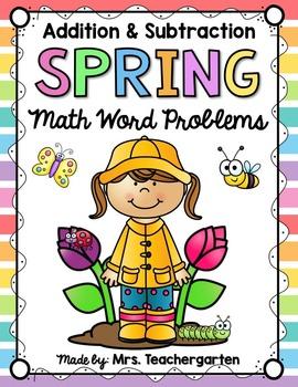 Spring Math Word Problems
