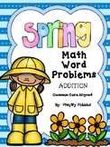 Spring Math Word Problems - Story Problems ADDITION