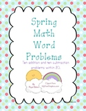 Spring Math Word Problems Within 20
