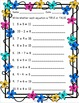 Spring Math Worksheet Pack {1st Grade}