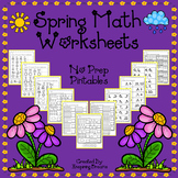 Spring Math Worksheets