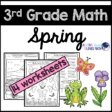 Spring Math Worksheets 3rd Grade Common Core