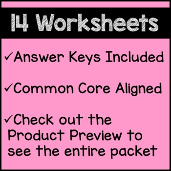 Spring Math Worksheets 4th Grade Common Core