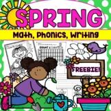Spring Activities Math & Literacy