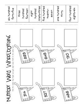 Spring Math and ELA No Prep Printables