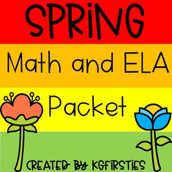 Spring Math and ELA Packet