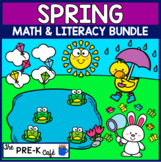 Spring Math and Literacy BOOM Card Bundle - 12 Decks for $10