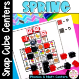 Spring Math and Literacy Center Activities