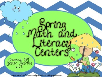 Spring Math and Literacy Centers: CCSS Aligned