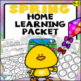 Spring Math and Literacy Home Learning Packet   Distance Learning