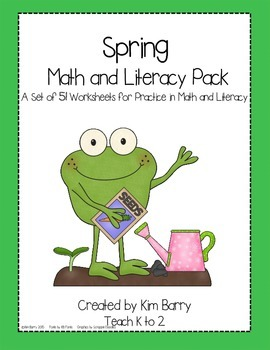Spring Math and Literacy Mega Pack