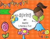 Spring Math and Literacy Printables