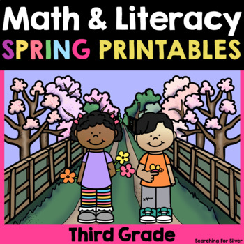 Spring Math and Literacy Printables {3rd Grade}