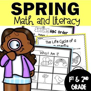 Spring Worksheets   Spring Activities   Math Worksheets