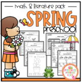 Spring Math and Literature Pack