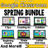 Spring Math and Phonics BUNDLE for Google Classroom