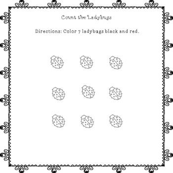 Spring Math Fun