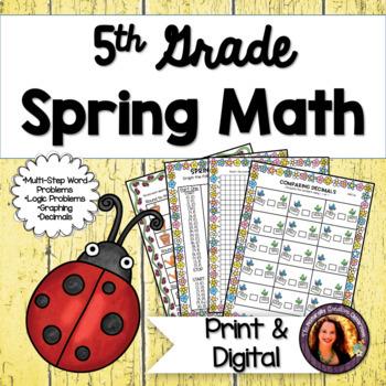 Spring Math for 5th Grade