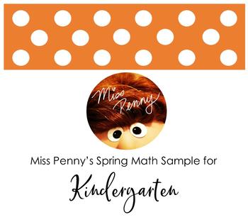 Miss Penny's Spring Math for Kindergarten!