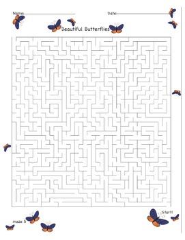 Spring Mazes & Puzzles