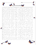 Spring Mazes & Puzzles